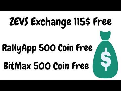 ZEVS Exchange 115$ Free | rallyapp 500 Coin free | BestEarningTips