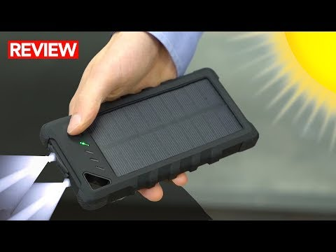 Best Waterproof Solar Power Bank - A MUST for Survival Kits!