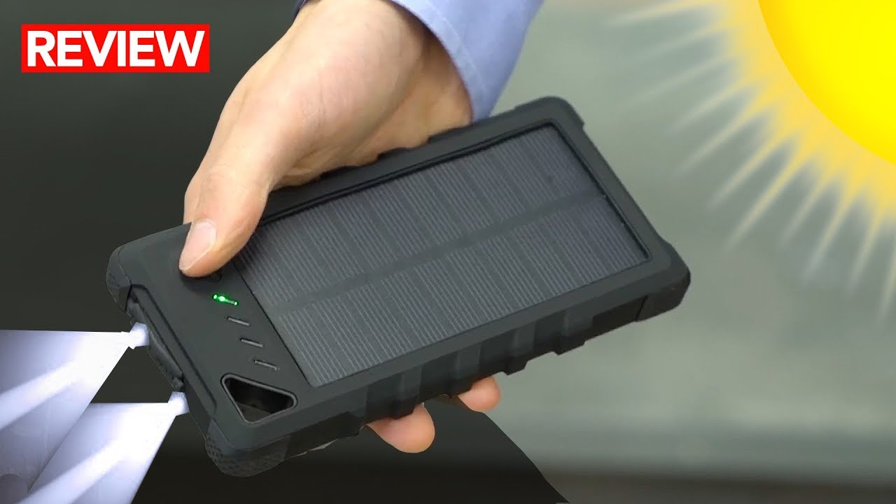 Best Waterproof Solar Power Bank A Must For Survival