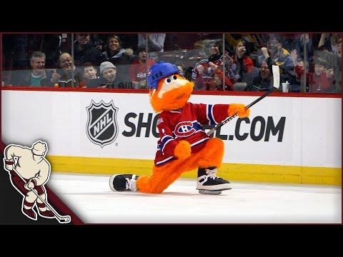 Hockey Mascot Moments