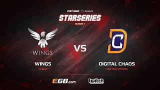 Wings vs Digital Chaos, Game 1, SL i-League StarSeries Season 3, LAN-Final