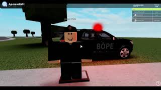 Roleplay in the B O P and Batthao of special police operations in Roblox along with the power
