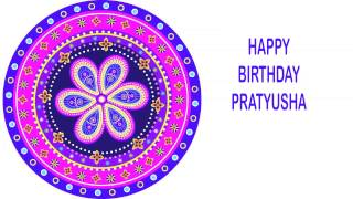 Pratyusha   Indian Designs - Happy Birthday