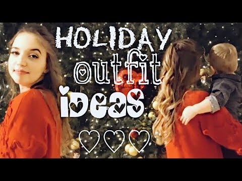 Cheap Holiday Outfit Ideas!! 🎄❤️