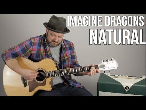 "Imagine Dragons ""Natural"" Guitar Lesson (Super Easy Beginner Acoustic)"