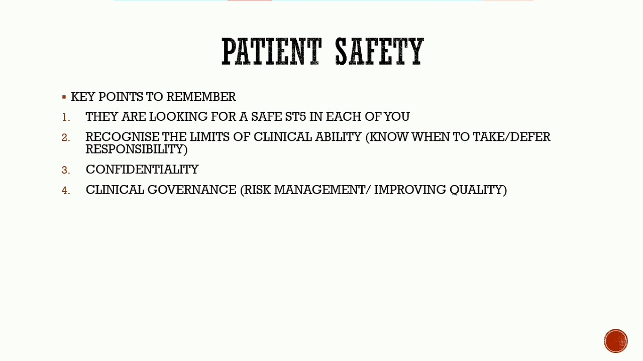 ExcelMRCOG part 3: Beyond Excellence: PATIENT SAFETY - YouTube