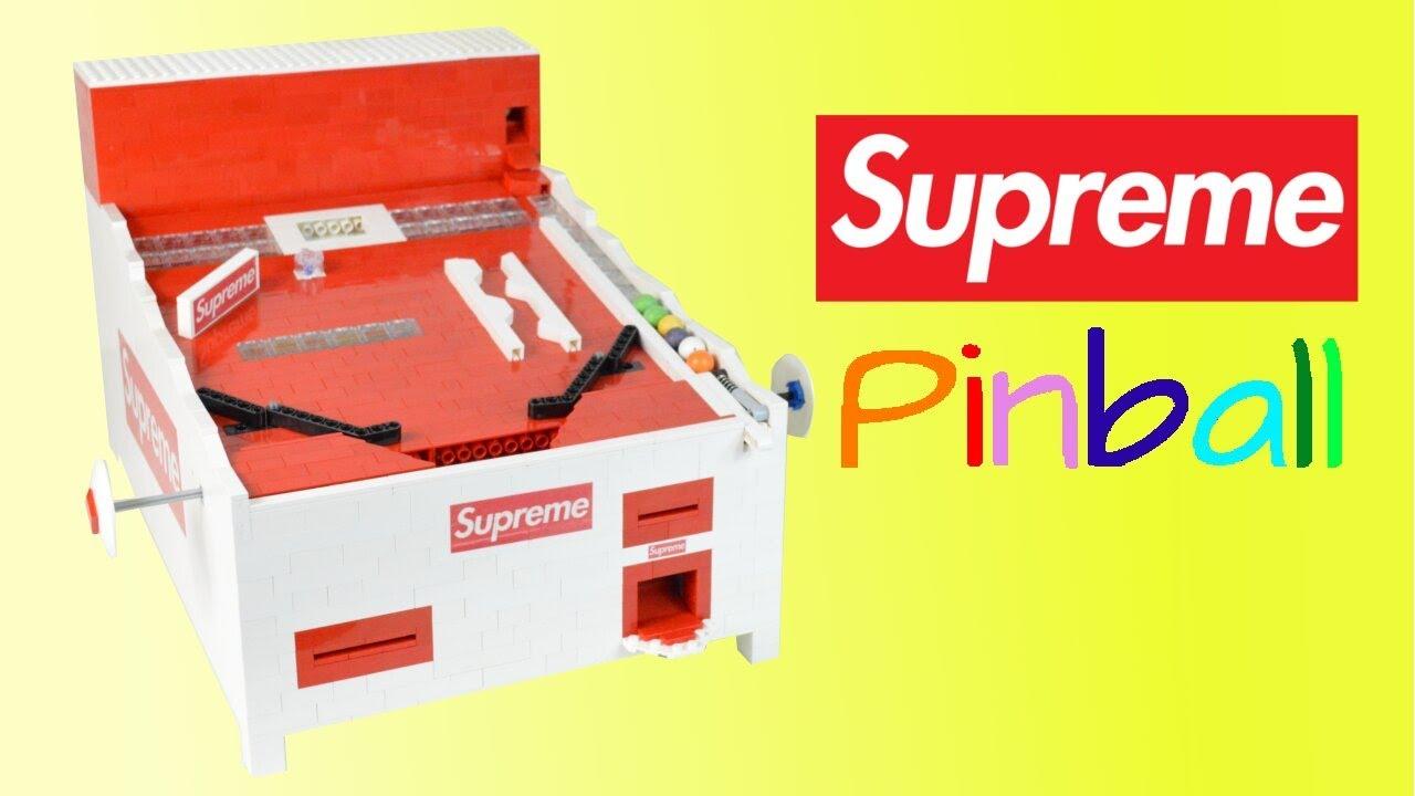 LEGO Supreme Pinball Machine (ft.Lickd) | Supreme Box Logo