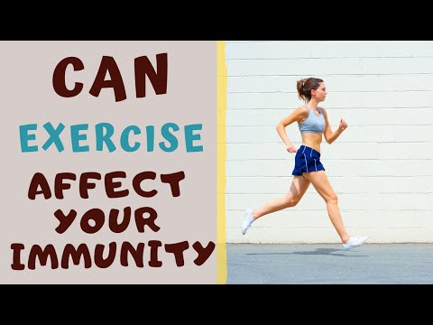 EFFECT OF EXERCISE ON OUR IMMUNE SYSTEMCan Exercise Boost Immunity