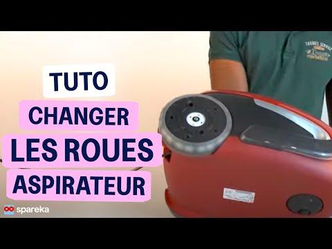 Changer roue et roulette d 39 aspirateur youtube for Changer un interrupteur mural