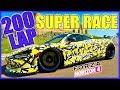 Forza Horizon 4 | 200 Lap Super Race!