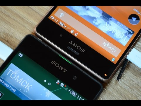 Sony Xperia Z3 Vs Xperia Z2: обзор-сравнение (speed Test And Comparison)