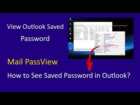 View Microsoft Outlook Saved Passwords | PCGUIDE4U