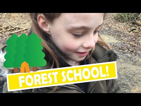 Just... SAVANNAH'S FIRST DAY AT HOMESCHOOL FOREST SCHOOL 🌲🌳