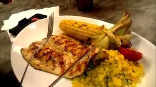 Pan Seared Trout With Shrimp Risotto And Grilled Corn  Corn Meals Recipes