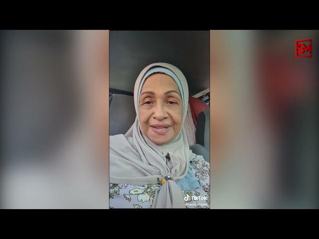 Berdoa supaya kita panjang umur dapat berjumpa lagi, anak mak kena kuat untuk mak