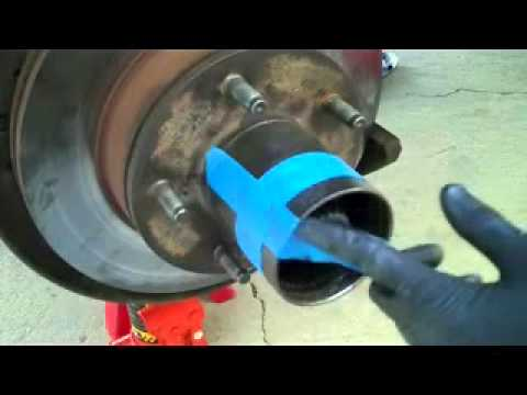 Ford Bronco spindle bearings and seals replacement part 1 - YouTube