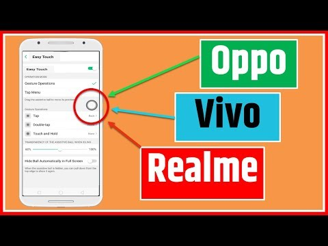 How To Enable & Disable Easy Touch Ball, Assistive Touch Screen Ball,on Oppo,Vivo,Realme,Android