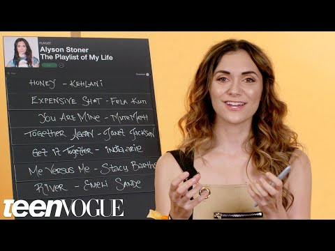 Alyson Stoner Creates the Playlist to Her Life | Teen Vogue