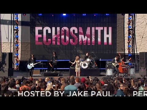 Echosmith - Get Into My Car (live)