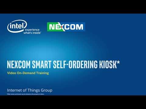 NEXCOM Smart Self-Ordering Kiosk