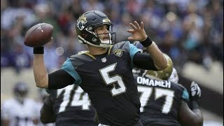 Blake Bortles vs Ravens (London Week 3) - 244 Yards + 4 TDs! | 2017-18 NFL Highlights HD