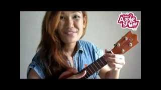 Payphone : Maroon 5 (uke tutorial) by Apple Show