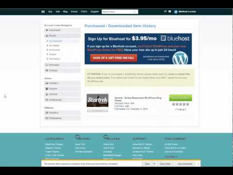 How to Install a Premium WordPress Theme