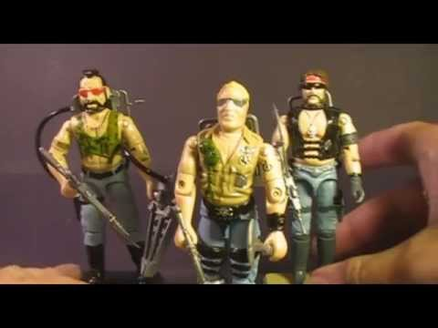 HCC788 - 1985 Dreadnok BUZZER- G. I. Joe toy review - HD