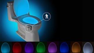 Подсветка для унитаза с датчиком движения(, 2016-10-06T21:17:08.000Z)