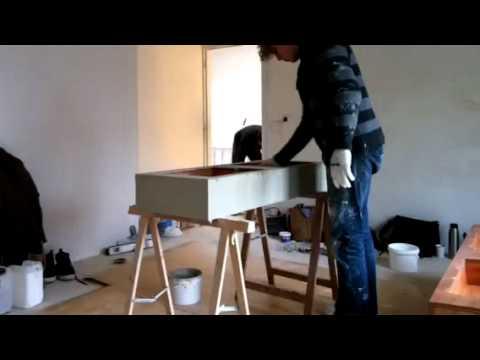 Wastafel Van Beton : Maatwerk wastafels