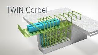 TWIN Corbel – support for TT-slabs and secondary beams