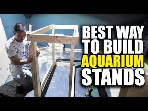 BUILDING AQUARIUM STANDS