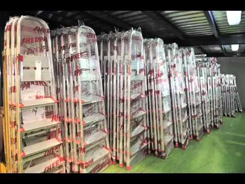 Escaleras de aluminio sc doovi for Fabrica escaleras aluminio