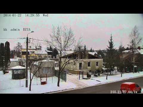 Kamera IP ReviZOOM 2Mpx XHA 201Z -- Odczyt Tablic