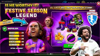 MINI FOOTBALL EL LOCO IS HE WORTHY IT AND DOPE OLYMPIAN AND OLD TOWN GAMEPLAY KING CAP GAMING