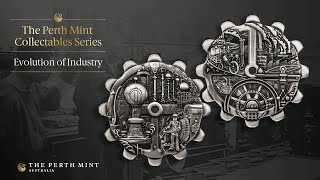 Revolutionary gear-shaped coins pay homage to industrial achievement