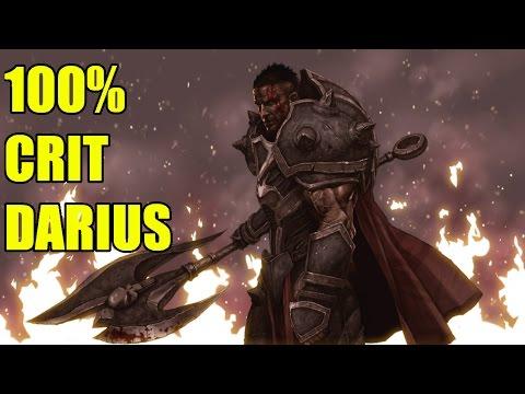 100% CRIT DARIUS! NEW META! OP! /w Ramutek, Digi