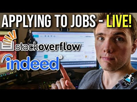 🔴 Applying to jobs - Live ( THEY FOUND THE STREAM )