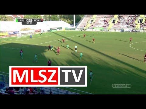 Kiss Tamás gólja a Swietelsky Haladás - Budapest Honvéd mérkőzésen