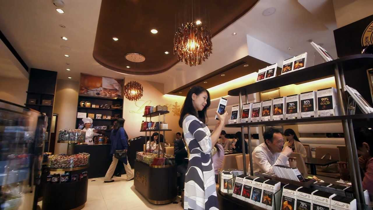 Discover Lindt Chocolate Shops Around The World Youtube