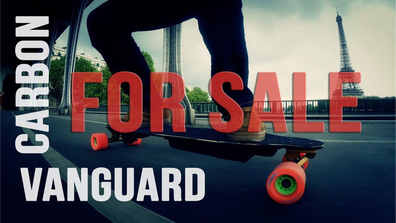 E-SK8.FR / Electric Longboard LOADED Vanguard 12S - FOR SALE ! - YouTube