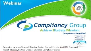 Compliancy Group - Build New Lucrative Revenue Streams with HIPAA Compliance-as-a-Service