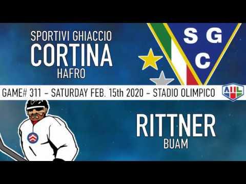 20200215 SG Cortina Hafro - Rittner Buam Master Round