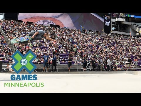 FULL BROADCAST: Toyota Men's Skateboard Park Final | X Games Minneapolis 2017