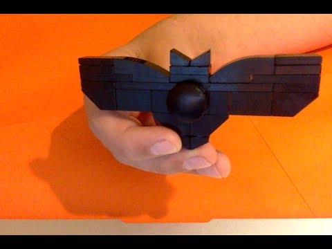 How To Build An Awesome Batman Fidget Spinner (Tim Han HDs Build)
