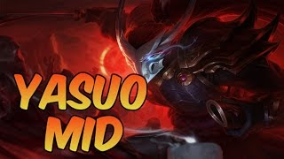 League of Legends - Blood Moon Yasuo Mid - Full Game Commentary