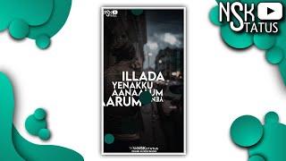 Enna Aanalum Yenkku Yaarum illada Song 💞 My Life Full Damage 💞 Fullscreen WhatsApp Status💞NSK Status