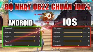 Free Fire | Độ Nhạy OB22 Siêu Chuẩn Cho Cả Android Và IOS | Killer TV