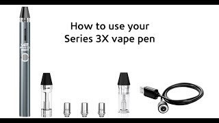 3 Temp Setting Vape Pen Instructions & How To, Turn On/Off, Pre-Heat