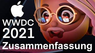 WWDC 2021 Zusammenfassung: Das Wichtigste in aller Kürze!